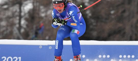 Sci, nuovo trionfo azzurro, Sofia Goggia vince la libera di Cortina
