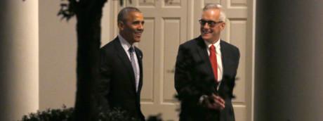 Barack Obama e Denis    McDonough