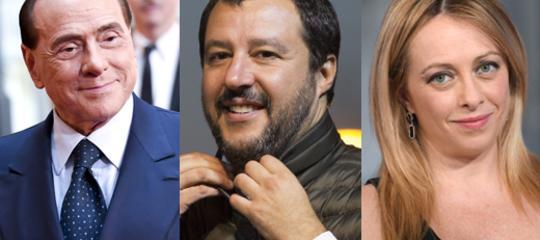 Il programma di governo firmato da Berlusconi, Salvini e Meloni, in 11 punti chiave