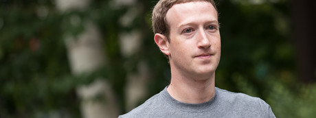 Mark Zuckerberg, ad di Facebook
