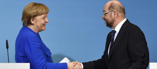 Germania: da congresso Spd via libera a riedizione GrosseKoalition