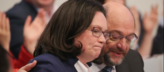 La Germania verso un'altra Grande Coalizione. Mal'Spdne esce lacerata