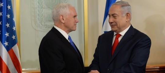 Cosa ha detto Mike Pence al Parlamento israeliano