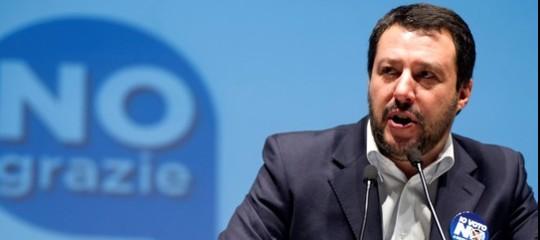 Sulla legittima difesa Salvini fa l'esempio sbagliato