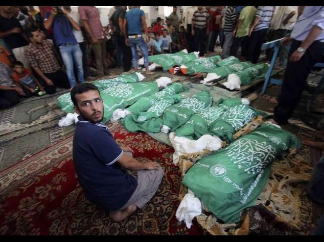 """Gaza: """"no a tregua umanitaria"""" Israele boccia richiesta dell'Onu"""