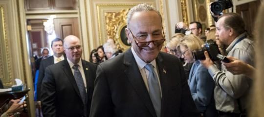 Usa: accordo bipartisan al Senato per porre fine alloshutdown