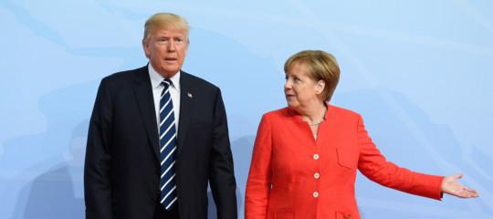 Merkela Trump: il protezionismo non è la risposta