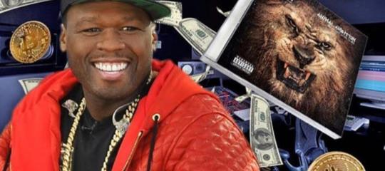 50 Cent incassa (a sua insaputa)8 milioni dall'album venduto inbitcoinnel 2014