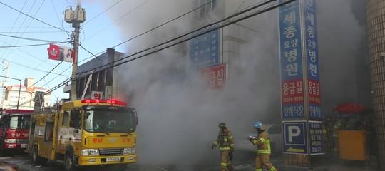 Sud Corea: incendio ospedale, 41 i morti e 79 i feriti