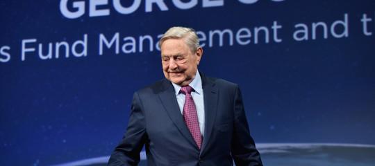 Soros, Trump un pericolo, ma Facebook e Google preoccupano di più