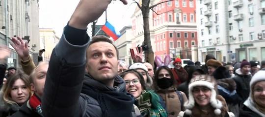Rilasciato Navalny dopo le proteste a Mosca. 250 i fermi