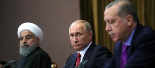 I negoziati diSochisulla Siria iniziano senza i curdi