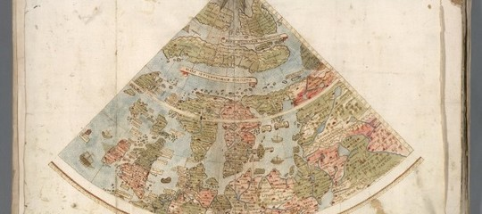 A Stanford hanno digitalizzato la più grande mappa del mondo del 1500, è di un italiano