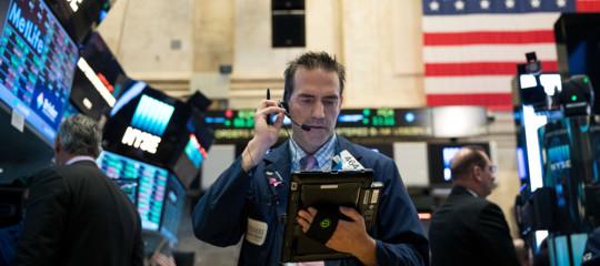 Wall Street: peggior settimana da 2016,Dj -2,54%, Nasdaq -1,96%