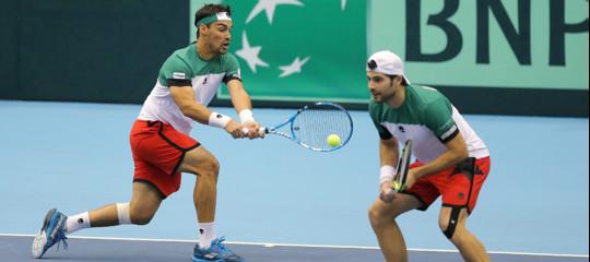 Coppa Davis, l'Italia vince il doppio e si porta sul 2-1 in Giappone