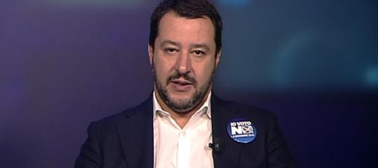 """Salvini: """"Chi ha sparato a Macerata deve andare in galera, ma si rischia scontro sociale"""""""