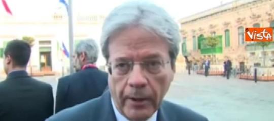 """Raid Macerata: Gentiloni, """"Odio e violenza non ci divideranno"""""""