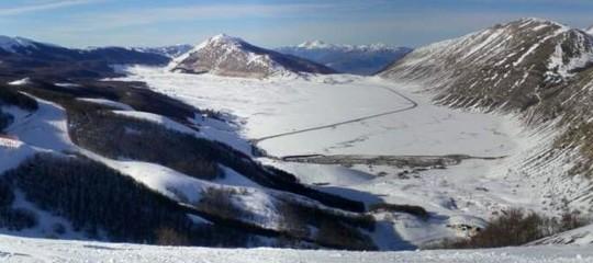 Montagna: slavina a Campo Felice, in corso le ricerche di due sciatori