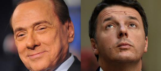 Berlusconi e Renzi d'accordo: se non c'è maggioranza si rivota