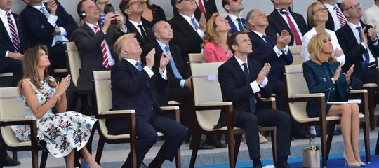 Cos'è questa storia della parata militare in stile francese voluta daDonaldTrump
