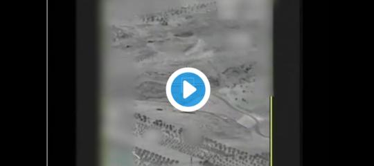 Ecco il video dell'abbattimento del drone iraniano in Israele