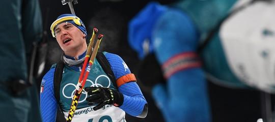 Giochi 2018: bronzo a Windisch,prima medaglia italiana nel biathlon