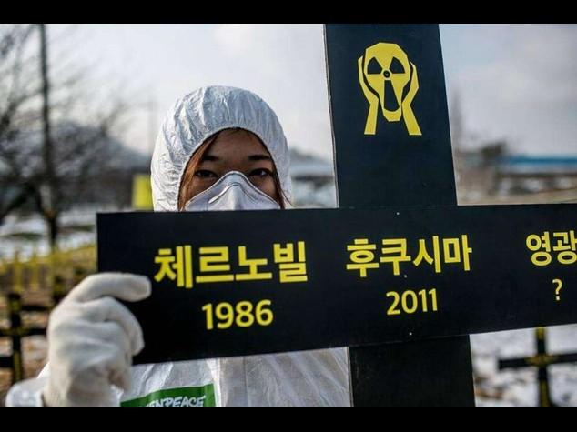 Greenpeace, a Fukushima e' ancora allarme: 59% campioni e' fuori norma - Video e Foto