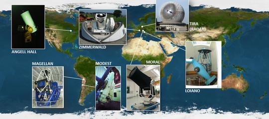 Rintracciato da studiosi italiani il satellite fuori controllo checadràsulla Terra