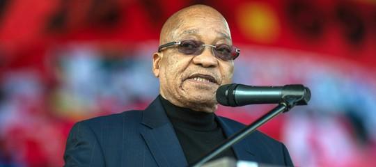 Sudafrica: Anc rimuove Zuma da capo di Stato