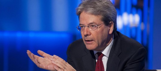 Gentiloni: congiuntura incoraggiante ma non mollare su riforme e riduzione debito