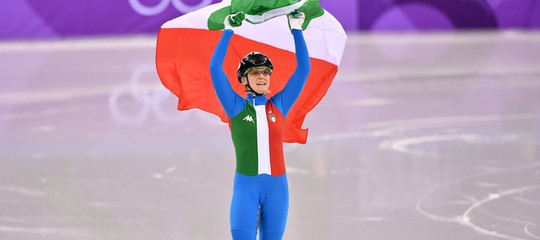 Giochi 2018: oro Fontana nello short track, Pellegrino argento nello sprint