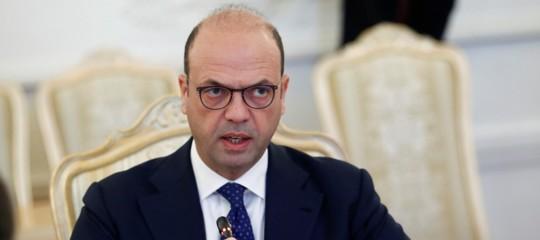 """Cipro: Alfano al ministro turco """"Serve soluzione condivisa"""""""