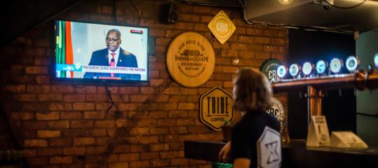 Sudafrica: il presidente Zumaannuncia dimissioni