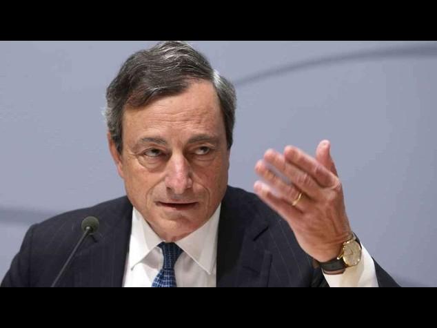 Inflazione: Draghi, aumento graduale da 2015