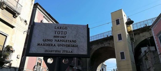 Per il compleanno di Totò, Napoli gli regala una piazza