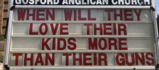 """Usa: """"quando ameranno figli piu di armi"""" post diventa virale"""