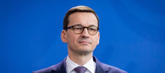"Premier polacco: ""Shoahcolpa anche di ebrei""; ira di Netanyahu"