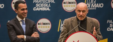 Luigi Di Maio e Gregorio De Falco