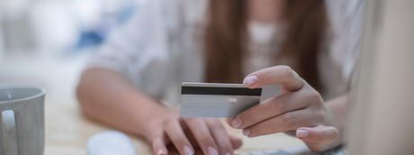 shopping online carta computer