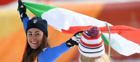 Giochi 2018: SofiaGoggiaoro azzurro nella discesa libera