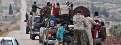 Una colonna di miliziani filo Assad muove su Afrin