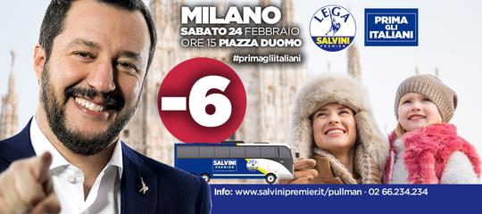 """Non ci sarebbe nessun italiano nei manifesti di Salvini """"Prima gli italiani"""""""