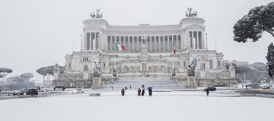 Il manto bianco diBuranricopre l'Italia: bollettino delle 12