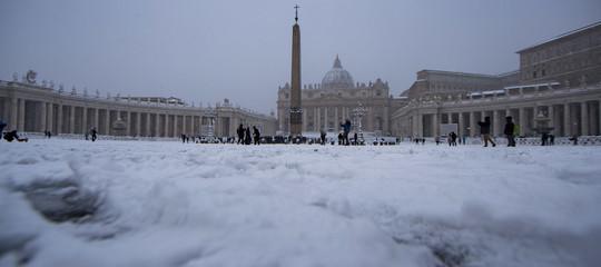 Consigli per l'uso tranquillo della neve romana