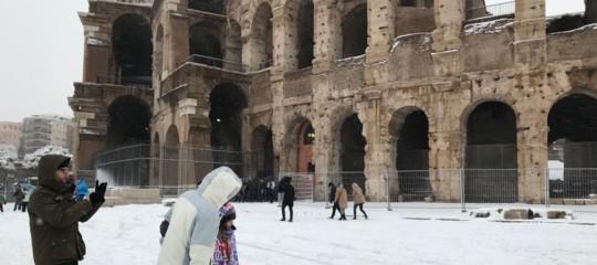 Il manto bianco diBuranricopre l'Italia:bollettino delle 18