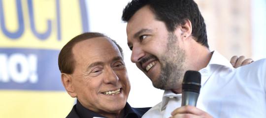 Come stanno le cose tra Salvini, Berlusconi eCasaPound