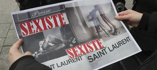 Chiè l'italiana che guidaYves Saint Laurent. Senza parlarefrancese