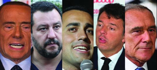 -4 al voto: larghe intese e governo di scopo, i paletti dei partiti