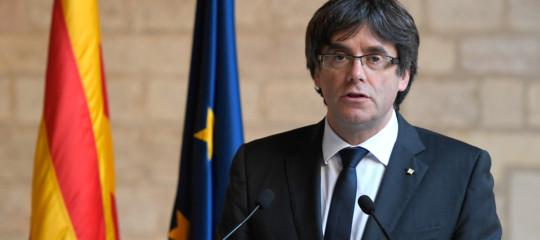 Catalogna:Puigdemontrinuncia e designa il detenutoSanchez