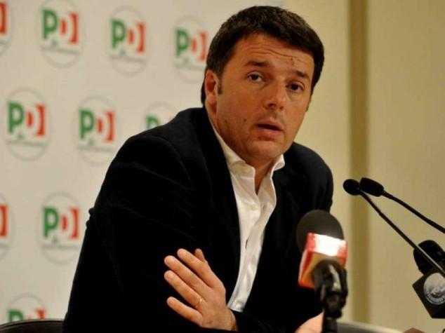"""Renzi, pronta riforma lavoro: """"con Tfr in busta paga 180 euro al mese in piu'"""""""